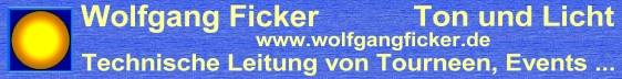 Wolfgang Ficker - Sound and Light - www.wolfgangficker.de